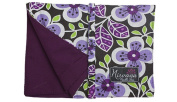 Nirvana Needle Arts 18cm Hook and Needle Case Purple Floral