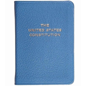 Palm-Size Constitution in TURQUOISE Leather by Graphic Image™ - 2.75x3.75