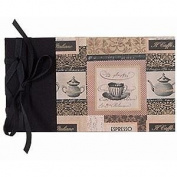 CAFE ITALIANO RIBBON-BOUND BRAGBOOK by Lineco® - 4x6