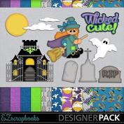 Wicked Cute - Digital Scrapbook Kit on CD