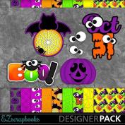 Spooky Tags - Digital Scrapbook Kit on CD