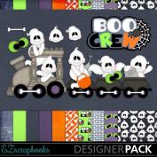 Boo Crew - Digital Scrapbook Kit on CD