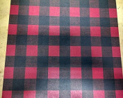 Buffalo Outdoor Plaid Red/Black - 12X12 Scrapbook Papers - 4 sheets