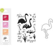 Hero Arts Colour Layering Bundle-Flamingo