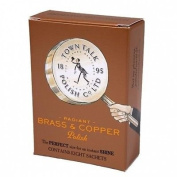 Town Talk Radiant Brass & Copper Polish / Cleaner - 8 Packets / Sachets