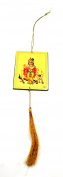 YAPREE HANDMADE PICTURE HANGING WITH TASSEL : LORD KRISHNA