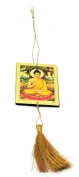 YAPREE HANDMADE PICTURE HANGING WITH TASSEL : LORD BUDDHA