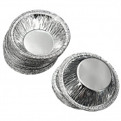 250 Pcs Disposable Aluminium Foil Cups Baking Bake Muffin Cupcake Tin Mould Round Egg Tart Tins Mould Mould