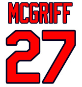 Fred McGriff Atlanta Braves Jersey Number Kit, Authentic Home Jersey Any Name or Number Available