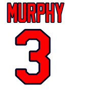 Dale Murphy Atlanta Braves Jersey Number Kit, Authentic Home Jersey Any Name or Number Available