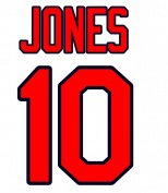Chipper Jones Atlanta Braves Jersey Number Kit, Authentic Home Jersey Any Name or Number Available