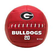 Simply Belle Fitness Medicine Ball, University of Georgia Bulldogs, 9.1kg