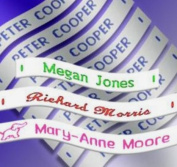 72 Woven Sew-on Name Tapes / Tags for School / Camp / Care Home