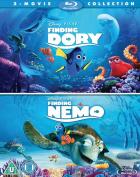 Finding Dory/Finding Nemo [Region B] [Blu-ray]