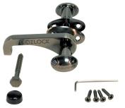 KidzLock Child Safety Door Lock for Sliding Doors - Antique Nickel