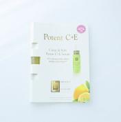 Eminence Citrus & Kale Potent C + E Serum Card Sample Set of 6 New Fresh Product