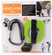 Toddler Walking Handle Set, Kidsmile Anti-lost Toddlers Walking Handle Wrist Safety Harness Straps with Large Stroller Hooks / Toddler Tether / Child Safety Cord