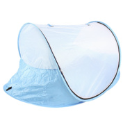 MooMooBaby Extra Large Pop-Up Baby Beach Tent - Fits 2 Kids