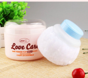 Baby Beauty Cosmetic Villus Powder Puff Sponge Makeup Box Tool Container Kit