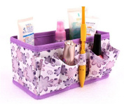 Gotd Folding Multifunction Make up Cosmetic Storage Box Container Bag Case Organiser Makeup stationery Container