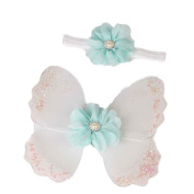 Euone® Newborn Baby Girls Butterfly Wings Costume Photo Photography Prop Outfits