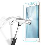 Asus ZenFone 3 (ZE552KL) 14cm Screen Protector, Bingsale Premium Tempered Glass Screen Protector for Huawei Honour 5X with 9H Hardness Anti-fingerprint