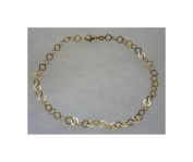 Sterling Silver Gold Plated Anklet 00100927