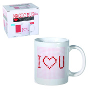 "Best Seller ""I Love You"" White Thermal Effect Cup - Lovely Mug Design - Christmas Xmas Secret Santa Stocking Filler Birthday Valentines Anniversary Gift Present Idea - Women Woman Lady Ladies Man Men Gents Her Him - One Supplied"