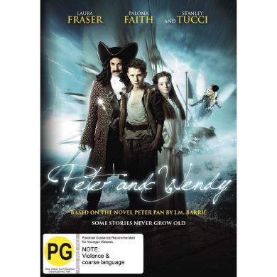 Peter & Wendy (Peter Pan) DVD 1Disc