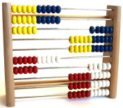 IDENA 656006 Wooden Counting Frame with 100 Beads