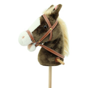 Sweety Toys 6410 hobby horse MISS CHOCOLATE with sounds