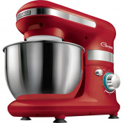 Sencor Food Processor (Planetary Kneading, Mixing and Beating System 4 Litres Stainless Steel Bowl red