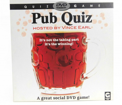 Pub Quiz DVD Game - Hosted by Vince Earle
