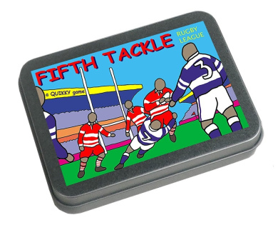 RUGBY LEAGUE - FIFTH TACKLE - The Quikky Rugby League travel board game in your pokket