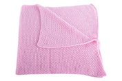 Girls Super Soft 100% Cashmere Baby Blanket - 'Baby Pink' - made in Scotland by Love Cashmere