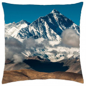 the mighty mount everest - Throw Pillow Cover Case (18