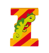 Orange Tree Toys : Wooden Letter I for Iguana