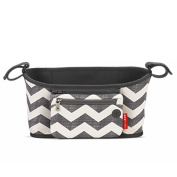 Skip Hop Grab and Go Stroller Organiser, Chevron by Skip Hop