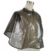 PVC Waterproof Hair Salon Barber Hair Cutting Hairdressing Shoulder Cape with Hooks and Loops Fastener