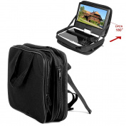 Rayinblue Car Headrest Mount Strap Case Bag For 18cm 19cm 20cm Portable DVD Player
