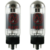 JJ ElectronICs JJ 6L6GC Vacuum Tube, Matched Pair