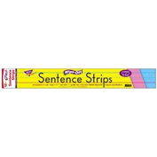 60cm Multicolor Pack Wipe-Off® Sentence Strips By Trend