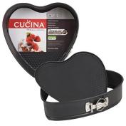 Love Heart Shape Non Stick Baking Spring Form Cake Tins Set Oven Tray Bakeware