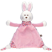 Baby Charms Bunny Cuddle Comforter, 16 x 28 cm, Pink, Model# 90409