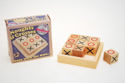 Wooden Noughts & Crosses by Ackerman