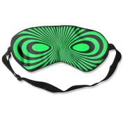 Black Mask Natural Silk Eye Sleep Mask For Nap