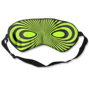 Black Mask Natural Silk Eye Mask For Travelling