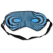 Black Mask Natural Silk Eye Mask For Nap