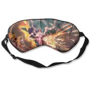 Naruto Ultimate Ninja Storm Natural Silk Deep Rest Eye Mask For Travelling