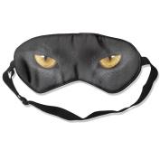 Black Panther Eyes Natural Silk Deep Rest Eye Mask For Blocking Out Lights